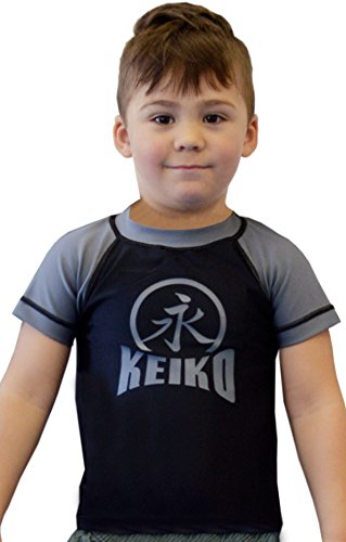 KEIKO SPORTS NEW Kids Comp Team Rashguard - Gray - 6