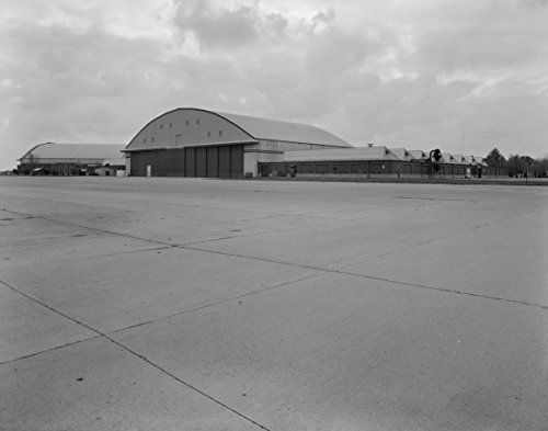 Home Comforts Laminated Poster Chanute Air Force Base, Hangar No. 1, Curtiss Street, Rantoul Vicinity, Champaign County, IL. (7. Vi Vivid Imagery Poster Print 24 x 36