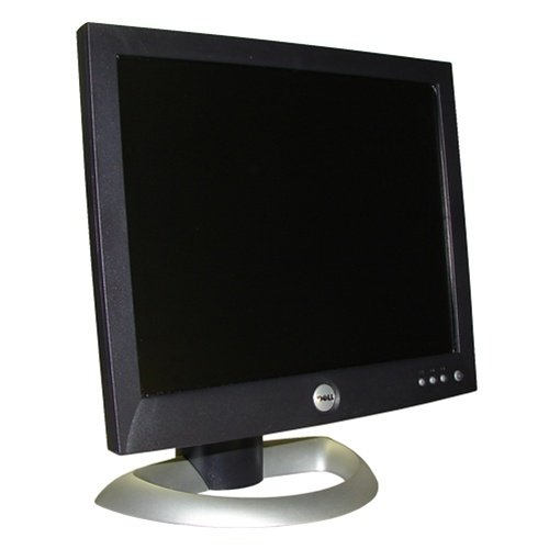 DELL 1504FPDELL 15 BLACK FLAT PANEL LCD MONITOR