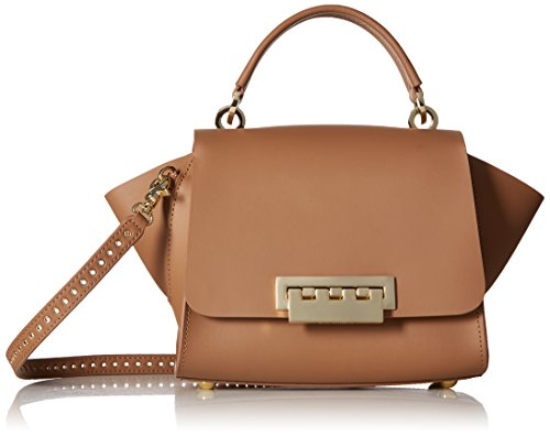 Zac Posen Designer (ZAC Zac Posen Eartha Top Handle Crossbody Core, Nude)
