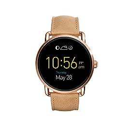 Fossil Gen 2 Smartwatch – Q Wander Light Brown Leather