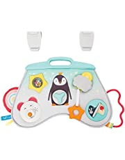 Taf Toys Music & Light Laptoy Activity Center for Babies. Baby's Activity & Entertaining Center, for Easier Development and Easier Parenting, Soft Colors to Keep Baby Calm, Lights, Music & Activities