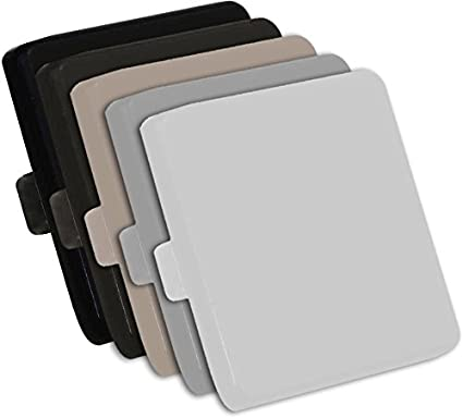 Amazon com: Power Coat Square Shape Aluminum Metal Post End
