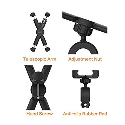 Segway Ninebot Attachable Phone Mount for MAX/ES1/ES2/ES4 Kick Scooters: Sports & Outdoors