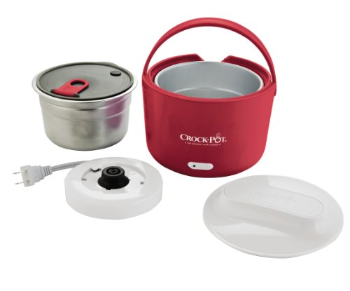 Crock-Pot 24-Ounce Lunch Crock Food Warmer, Red