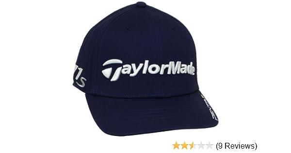 Amazon.com  TaylorMade Tour DJ Golf Hat (Navy 9544e5220ef2