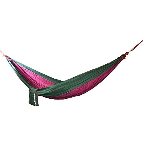 Flexifoil Hamac parachute Tissu 100% Nylon–Idéal pour l'extérieur, camping, randonnée & Voyages