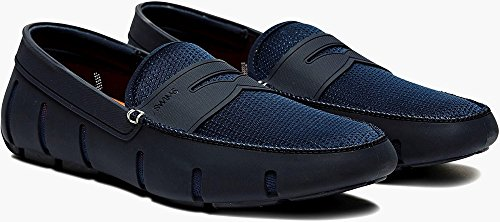 Swims Mens Penny Loafer (11 D(M) US, Navy/Navy) by SWIMS