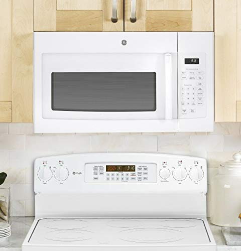 GE JVM3160DFWW Over The Range Microwave 1.6 Cu. Ft White