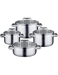 ELO Premium Multilayer Stainless Steel Kitchen Induction Cookware Pots and Pans Set with Multilayer Heating System...