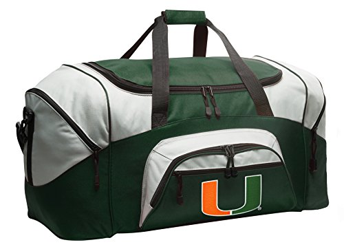 ag University of Miami Gym Bag Large (Miami Gym Bag)