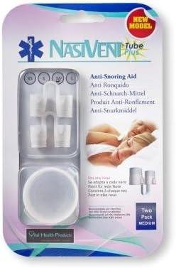 Amazon Com Nasivent Tube Plus Anti Snoring Device 2 Pack Medium Snore Reduction Chin Strips Beauty