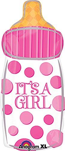 Baby Girl Bottle Junior Shape Balloon 5pack Anagram