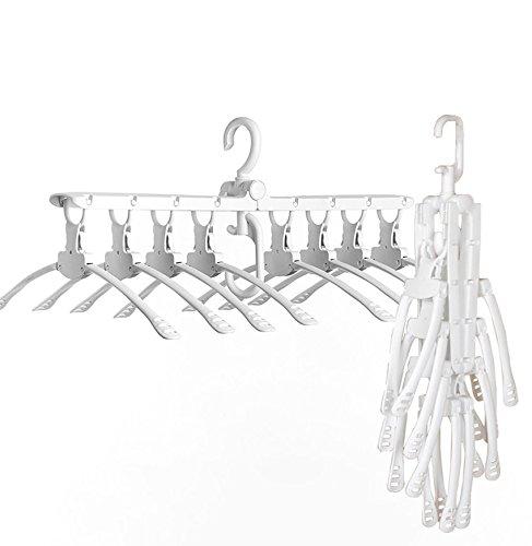 TabEnter Hanging 8 in 1 Magic Clothes Hanger, Closet Organiz
