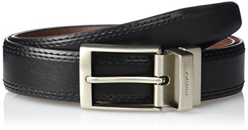 Nautica Mens Saddle Leather Reversible Belt