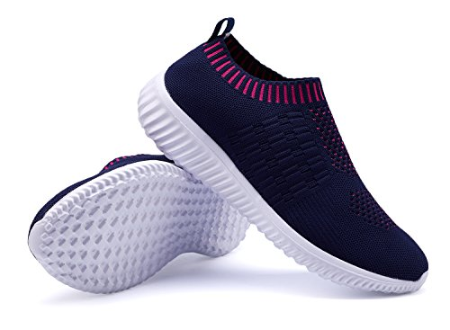 Casual XMDR Sport Shoes Comfortable Fashion Women's Breathable Mesh 016darkblue Sneakers Walking Shoes fqAXqSr