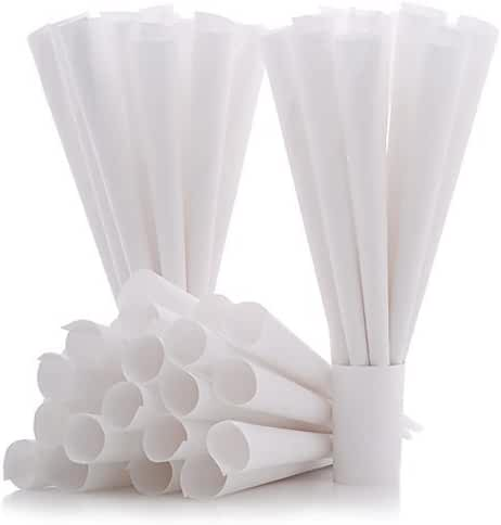 Cotton Candy Express 6005 Cones (100 Pack), White