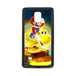 Samsung Galaxy Note 4 Case Black Super Mario Cell Phone Case Cover X8X3FU