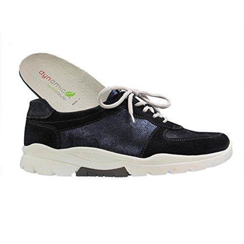 Zapatos Waldläufer de mujer azul cordones para azul B8rBqw