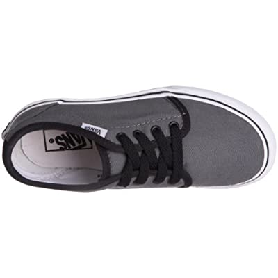 Vans Boys' 106 Vulcanized , Pewter/Black-10.5 Toddler