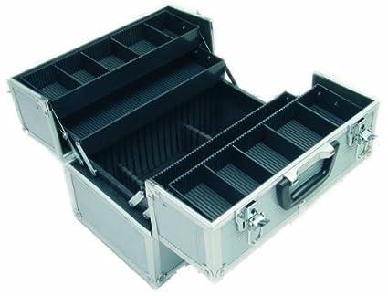 Viso STC944 - Caja de herramientas (aluminio, con 4 bandejas telescópicas): Amazon.es: Industria, empresas y ciencia