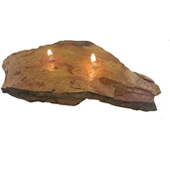 Fire rock 2 double wick home kitchen for Firerock fireplace prices
