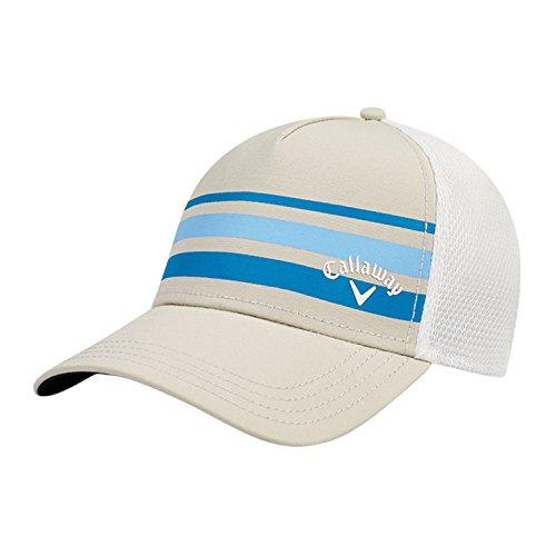Callaway (キャロウェイ) Men's Golf Cap メンズゴルフキャップ [Trucker & Stripe Mesh]