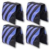StudioFX SANDBAG Sand Bag SADDLEBAG DESIGN 4 BAGS WEIGHT BAGS FOR PHOTO VIDEO STUDIO STAND