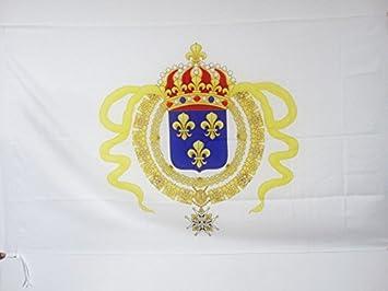 AZ FLAG Bandera del VIRREINATO Francia 150x90cm para Palo - Bandera COLONIAS FRANCESAS DE NORTEAMÉRICA -