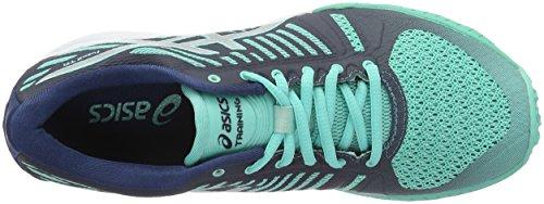 Poseidon Cockatoo Fuzex Turquoise Women's Tr Shoes Fitness Asics Silver 8w6fqg
