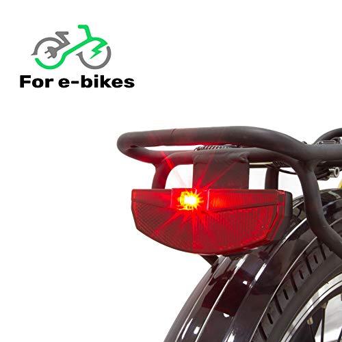GGSN Blaze-Lite Rear Bike Lite and Reflector for E-Bikes