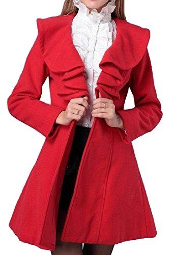 Wool Ruffle Jacket - 7