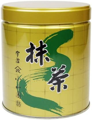 山政小山園 抹茶 松風 ( 茶道用・食品加工用 缶入り ) (300g缶)