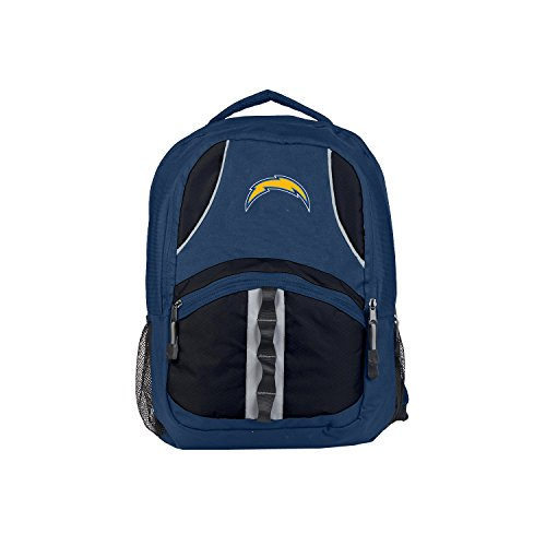 Officially Licensed NFL Los Angeles Chargers Captain Backpack ()