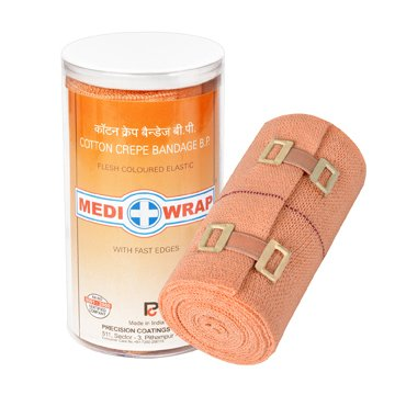 buy mediwrap crepe bandage 10 cm x 4m 4 brown online at low