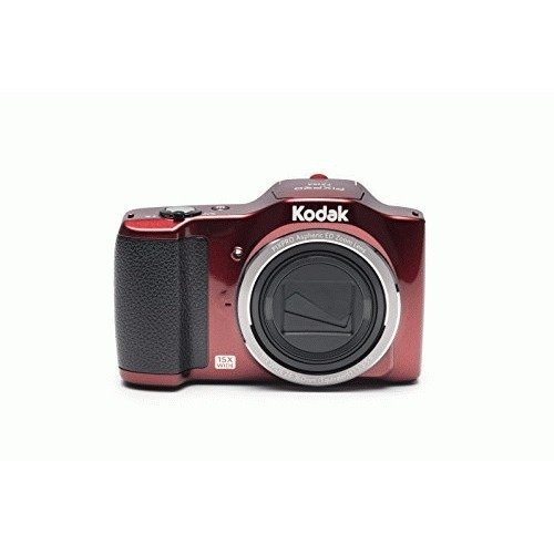 Kodak 16 Friendly Zoom FZ152 with 3″ LCD, Red (FZ152-RD)