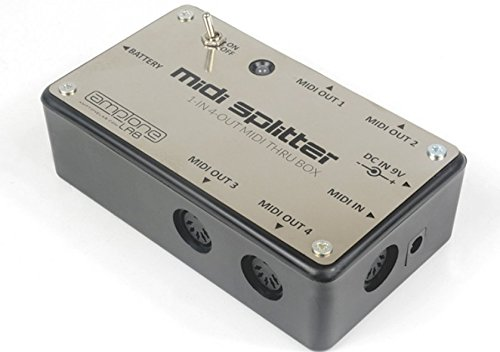 AmpTone Lab Powered Midi Splitter