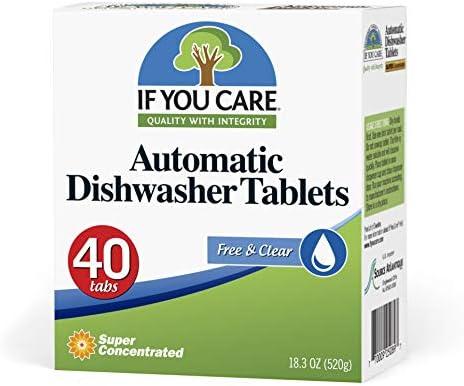 Amazon.com: If You Care automático pastillas de lavaplatos ...