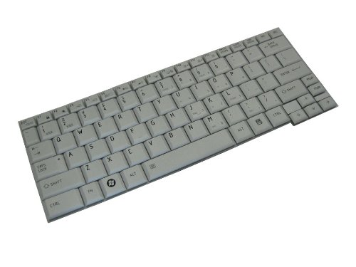 (Brand new OEM Toshiba Portege R500 R600 A600 US Silver Keyboard  Part# P000526790)