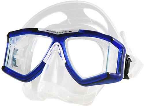 - Tilos Panoramic Double Lens w/Purge Mask (Translucent Blue)
