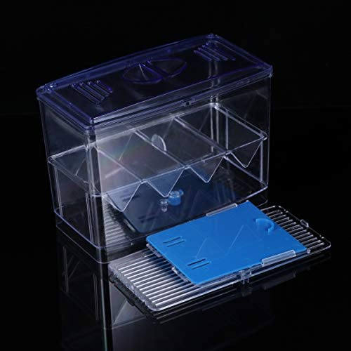 POPETPOP Caja de Cría de Peces de Acuario Incubación de Peces Caseros 5