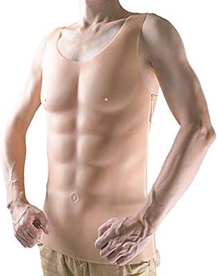Falso Pecho Músculo Disfraz Falsos Músculo Del Vientre De ...