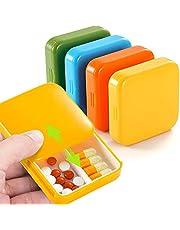 Colorful Pill Organizer Box