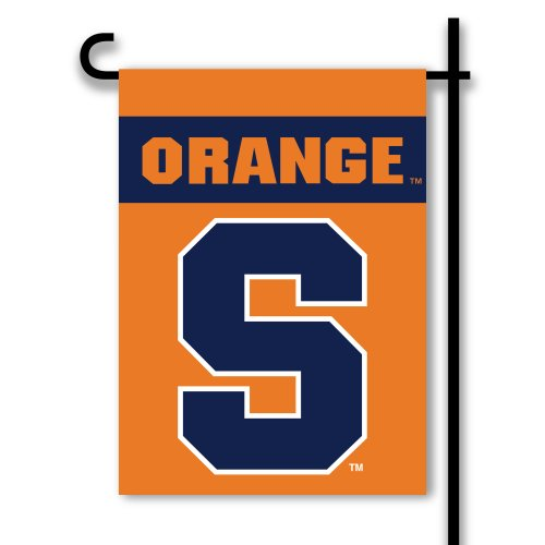- NCAA Syracuse Orange 2-Sided Garden Flag