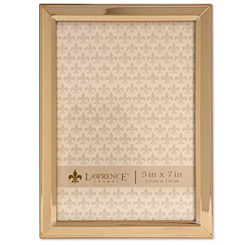 Gold Metal Classic Bevel Picture Frame, ()