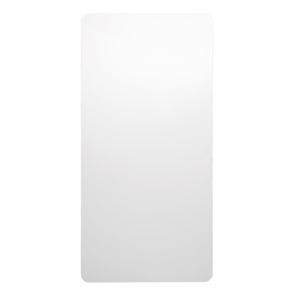 Excel Dryer 89W Plastic XLERATOR Wall Guard for XLERATOR Hand Dryer, 15-3/4'' Width x 31-3/4'' Height x 1/16'' Depth, White (Pack of 2)