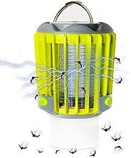 3 in 1 Mosquito Killer & Camping Lantern & Flashlight IP67 Rainproof Electric Bug Zapper USB Rechargea