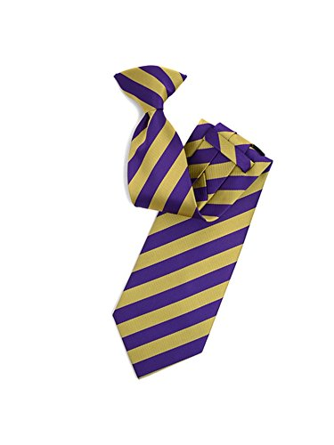 College Purple And Gold 1/2