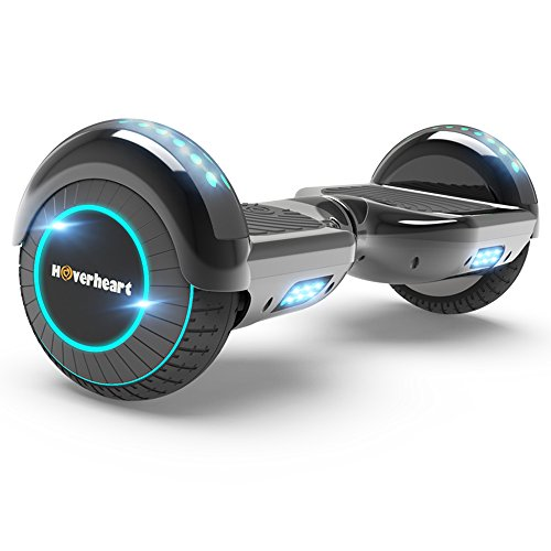 Hoverboard Two Wheel Self Balancing Electric Scooter Ul 2272 Certified  Metallic Chrome With Wireless Speaker And Led Light  Chrome Titanium
