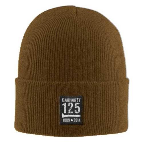 Carhartt Winter Knit Hat (Carhartt Men's 125th Watch Hat,Carhartt Brown (Closeout),One Size)